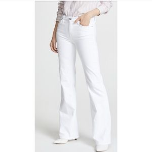Current/Elliot | The Jarvis Flare White Jeans BNWT